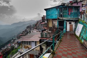 slums in Ganj Road, Shimla