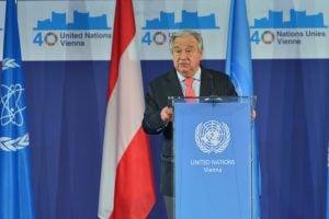 Antonio Guterres, the UN Secretary General