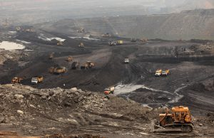 Open-cast coal mines of the Mahanadi Coal Fields Limited at Jharsuguda, Orissa [image: Alamy]