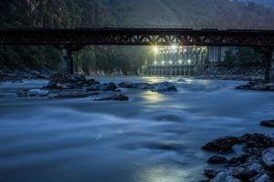 The Kali Gandaki dam
