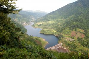 Hydroelectric dam in the hilly Kimin district of Arunachal Pradesh. Robert Harding / Alamy