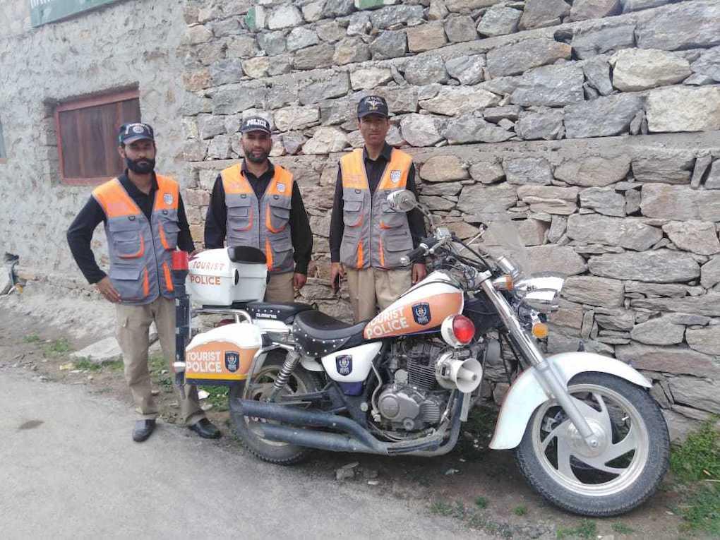 Tourist police Gilgit-Baltistan Aftab Rana