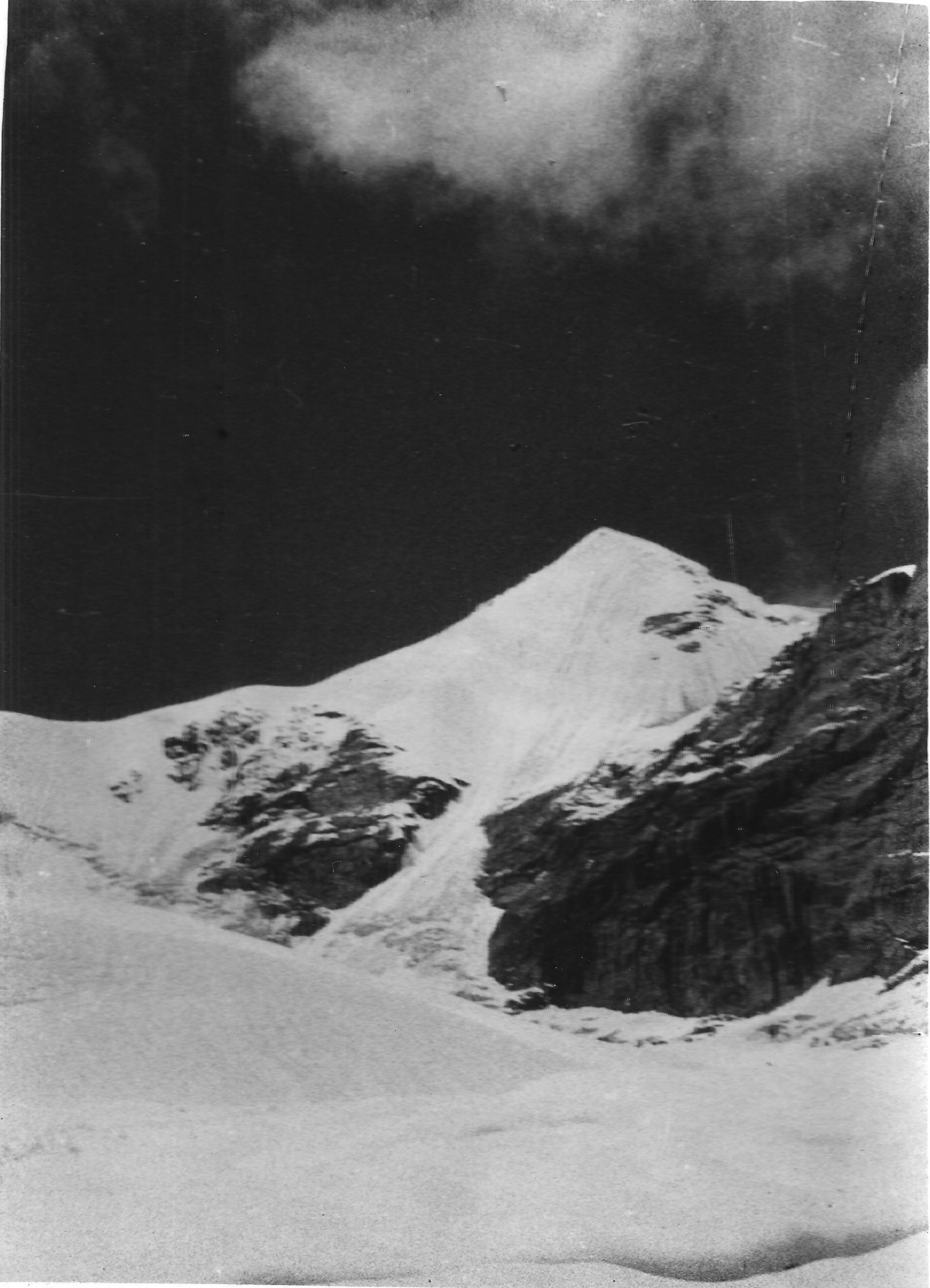 Lalana, a peak that has only been scaled once, was named by the expedition team 50 years ago [image by: Sudipta Sengupta]