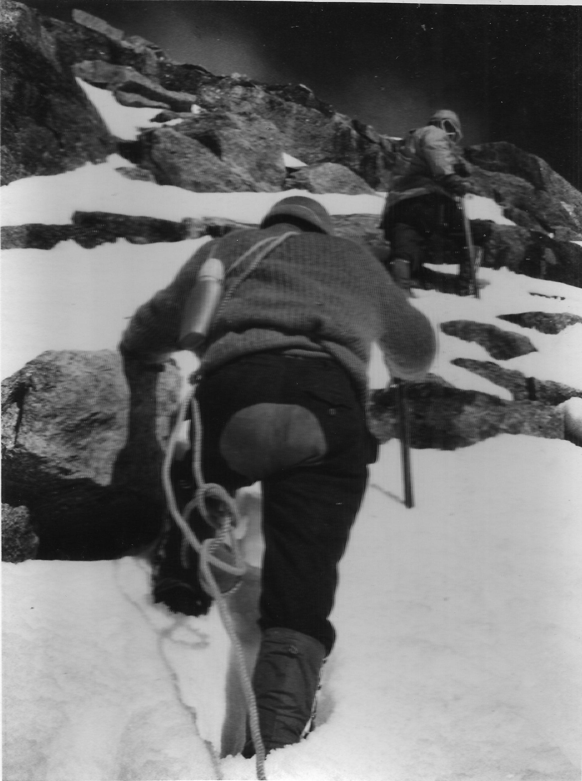 The Lalana ascent [image by: Sudipta Sengupta]