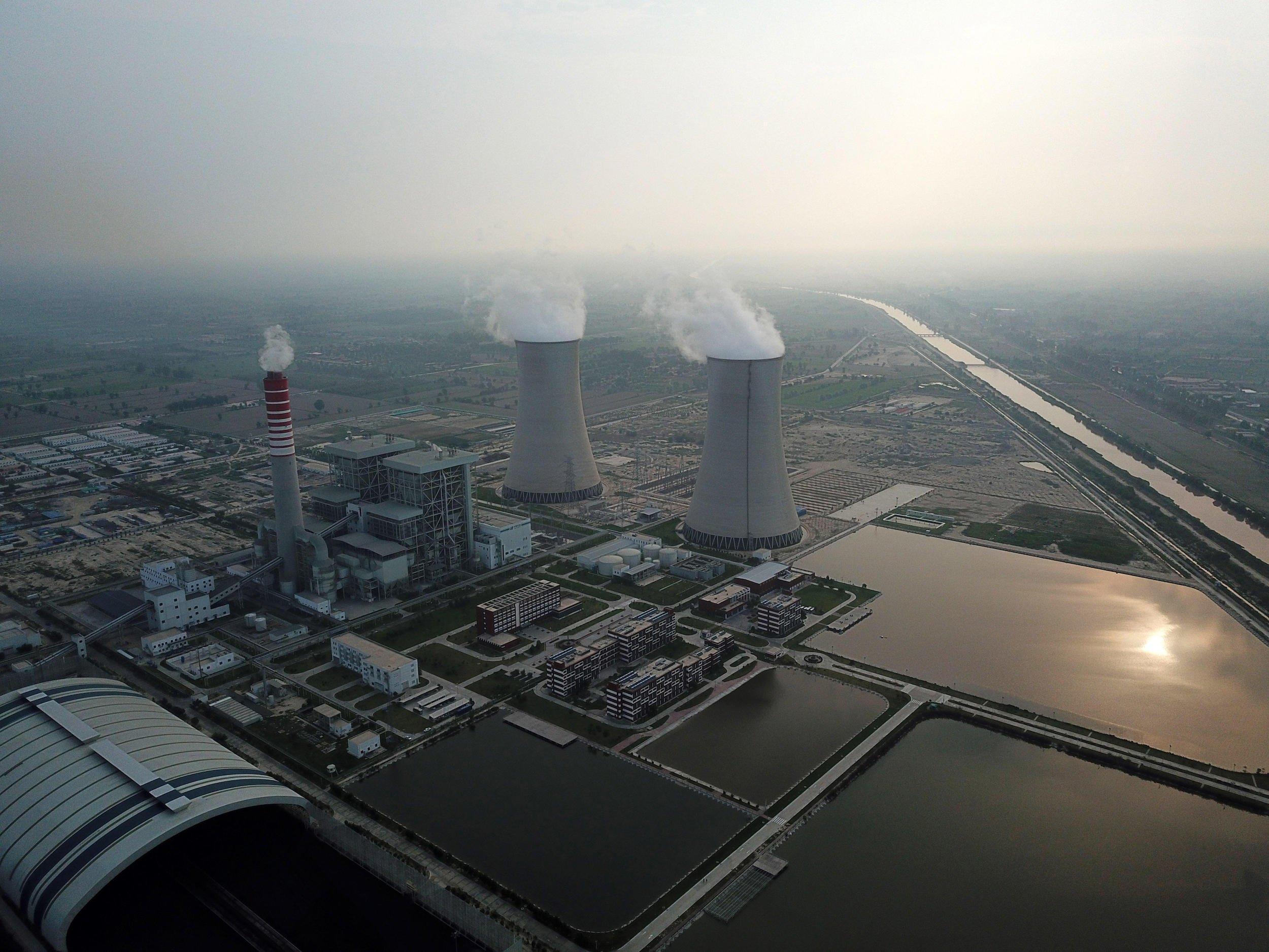 The Sahiwal coal power, built as part of the China-Pakistan Economic Corridor (Image: Alamy)