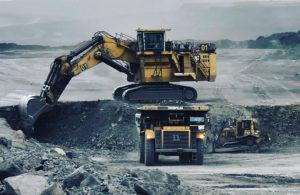 A coal mine in the Gobi desert [image by: O. Odonchimeg]