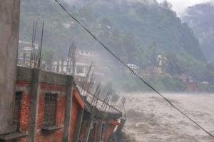 India cloudburst disaster, Alamy