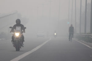 air pollution New Delhi, SOPA Images Limited / Alamy
