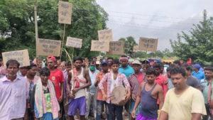 Birbhum bengal protest coal mining Deocha Pachami