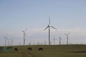 wind farm, Inner Mongolia, Imaginechina Limited / Alamy