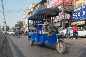 Delhi electric vehicle