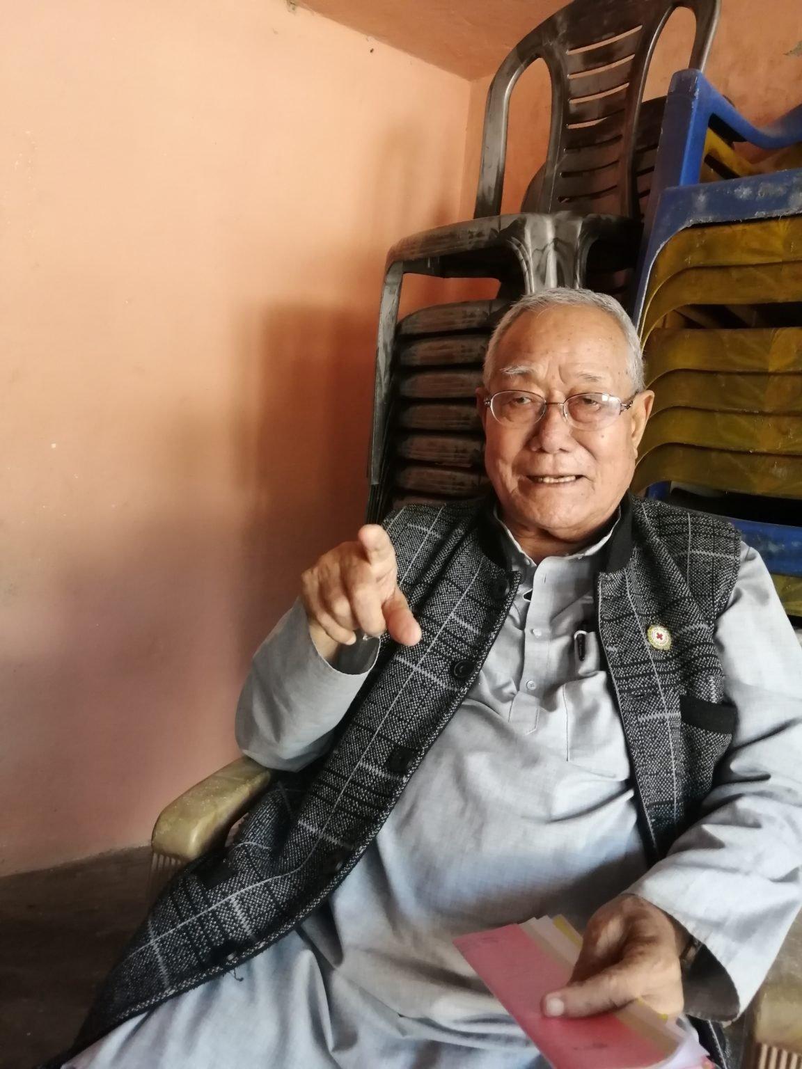 Ganesh Kumar Limbu Koshi flood victims