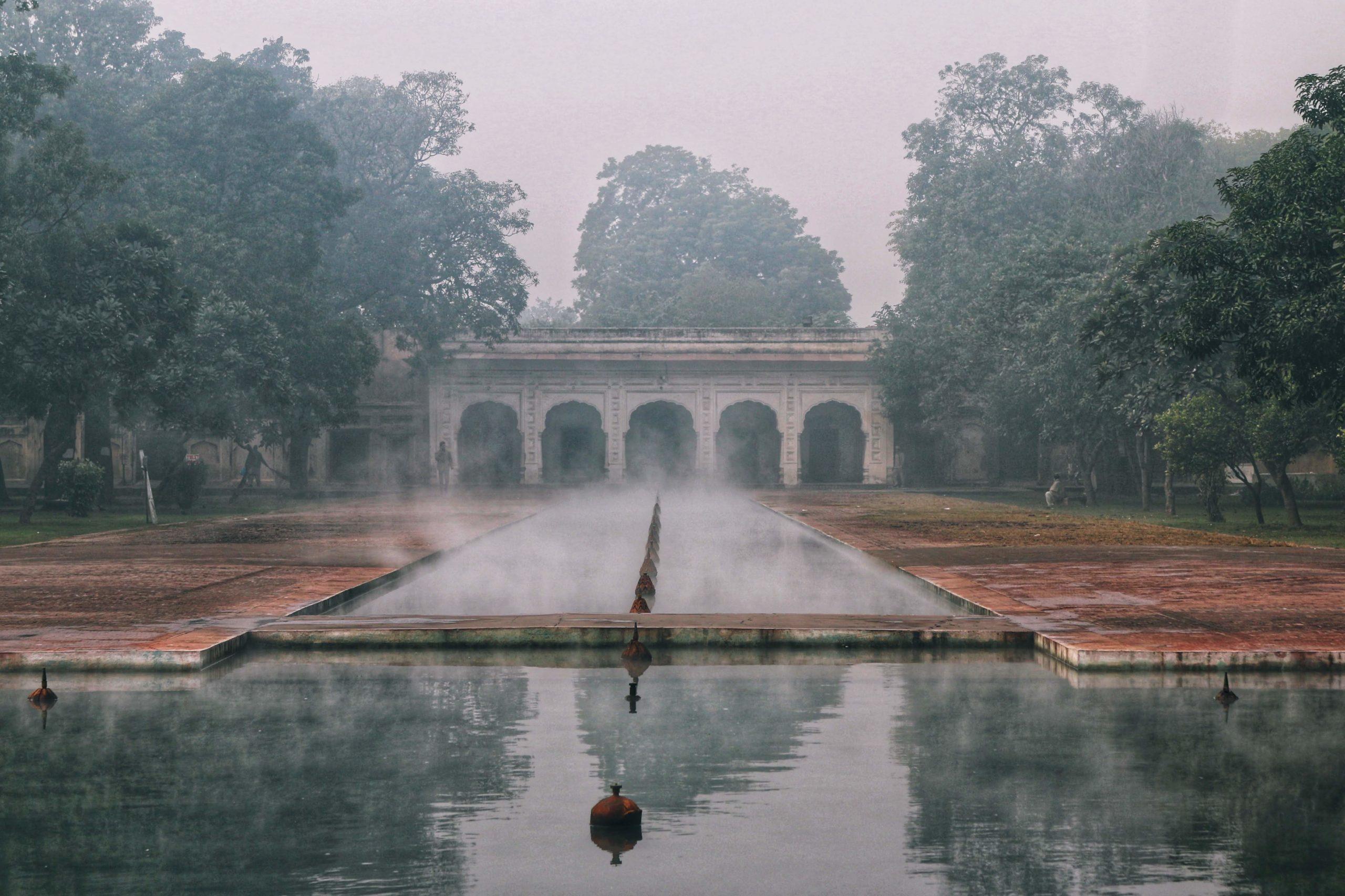 دسمبر 2019 کی لاہور کے شالیمار گارڈن کی ایک اور تصویر- [تصویر بشکریہ ندا سہیل چودھری]