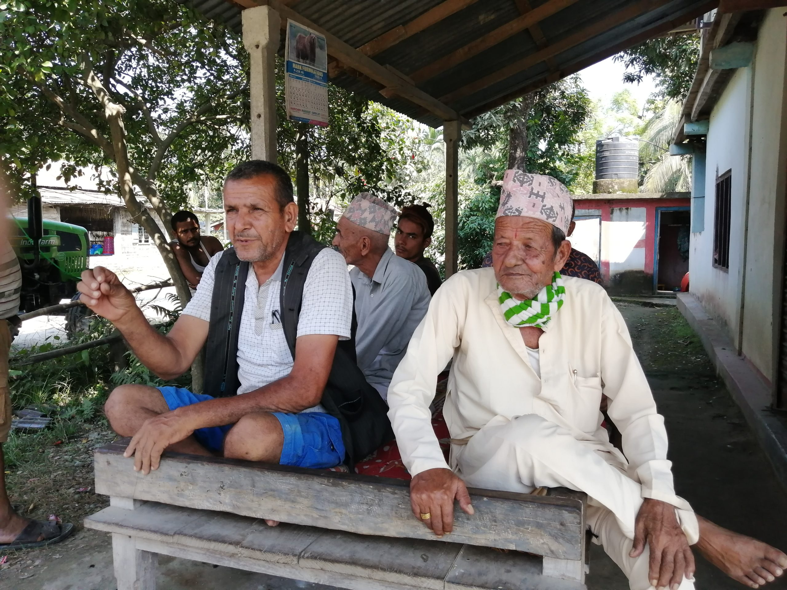 Koshi victims 1968 flood Sunsari Nepal