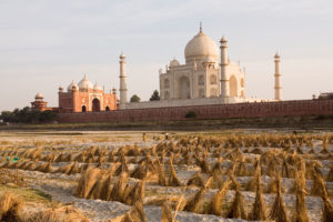 Yamuna river, Taj Mahal, Neil McAllister / Alamy