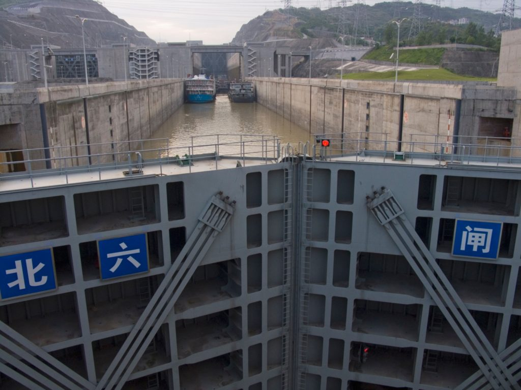Canal Lock at Three Gorges Dam