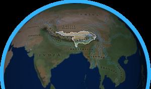 Brahmaputra map