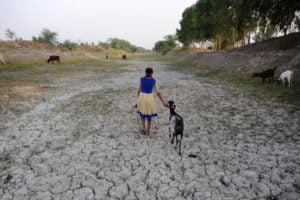 dry bed of Varuna river ganga-brahmaputra basin