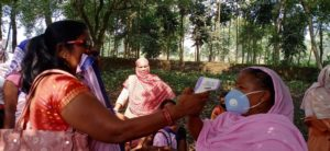 ASHA workers have been utilised by the state to gather information and often be first responders during the pandemic [image by: Kiran, ASHA worker, Bihar]