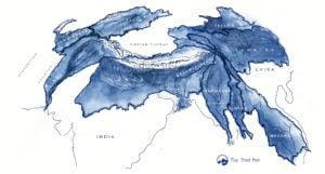 hindu kush mountains map