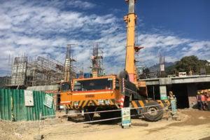 construction of ropeway at Dharamsala