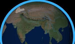 Amu Darya map
