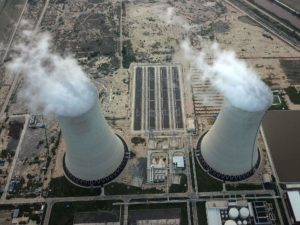 This picture shows the Sahiwal coal power plant, built as part of the China-Pakistan Economic Corridor [image: Alamy]