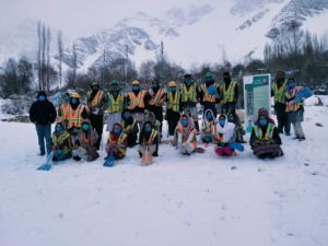 Avalanche rescue training in Chitral [image courtesy: AKAH-P]