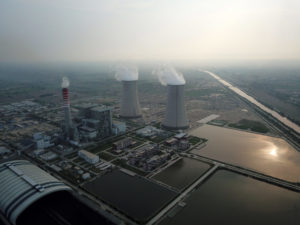 A coal power plant in Sahiwal, Punjab. Six coal plants have been built under the China-Pakistan Economic Corridor so far, adding almost 5,000 MW of power to the grid by 2019 [Image by: Xinhua / Alamy]