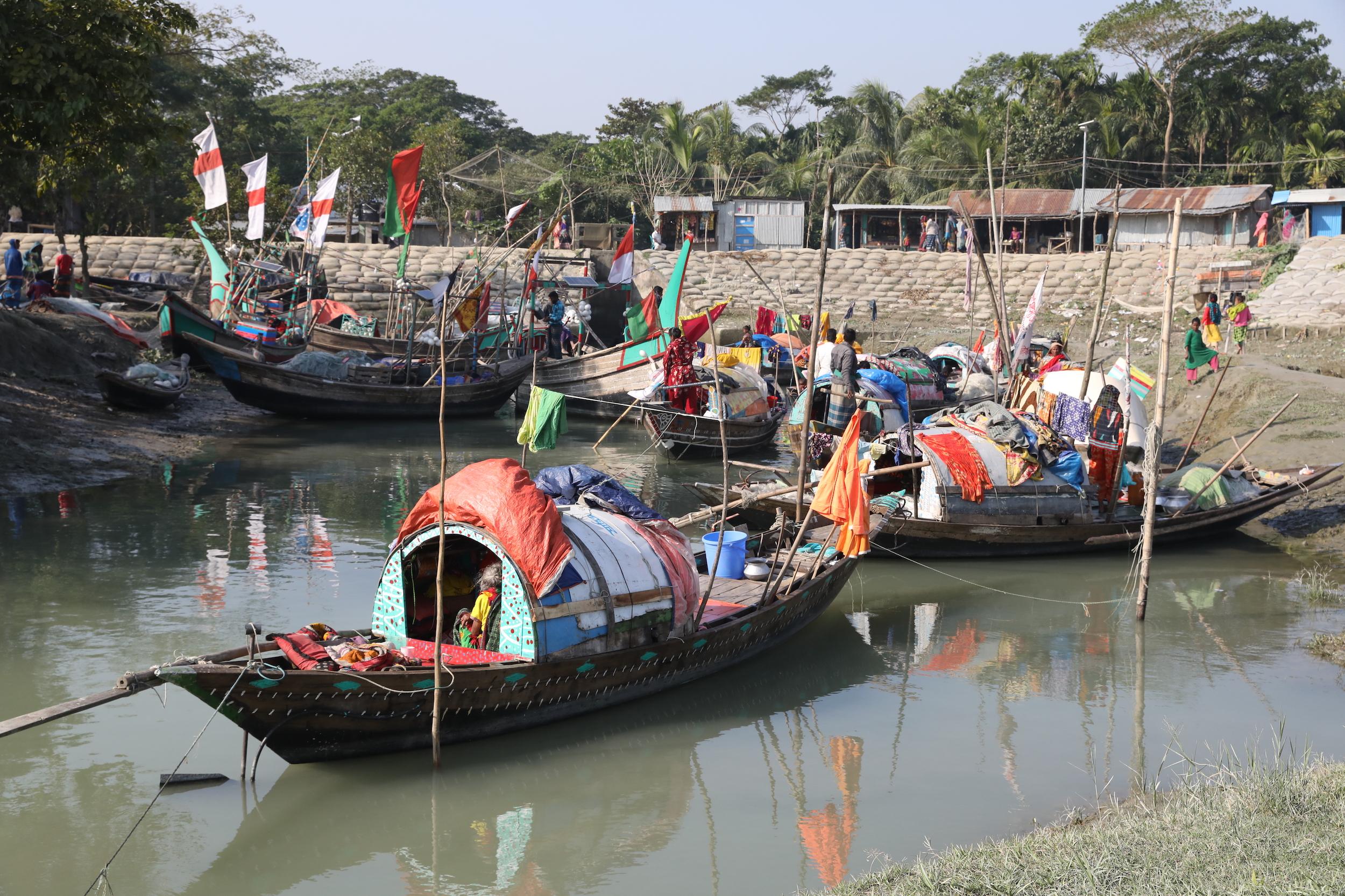Sardar boat Bhola river