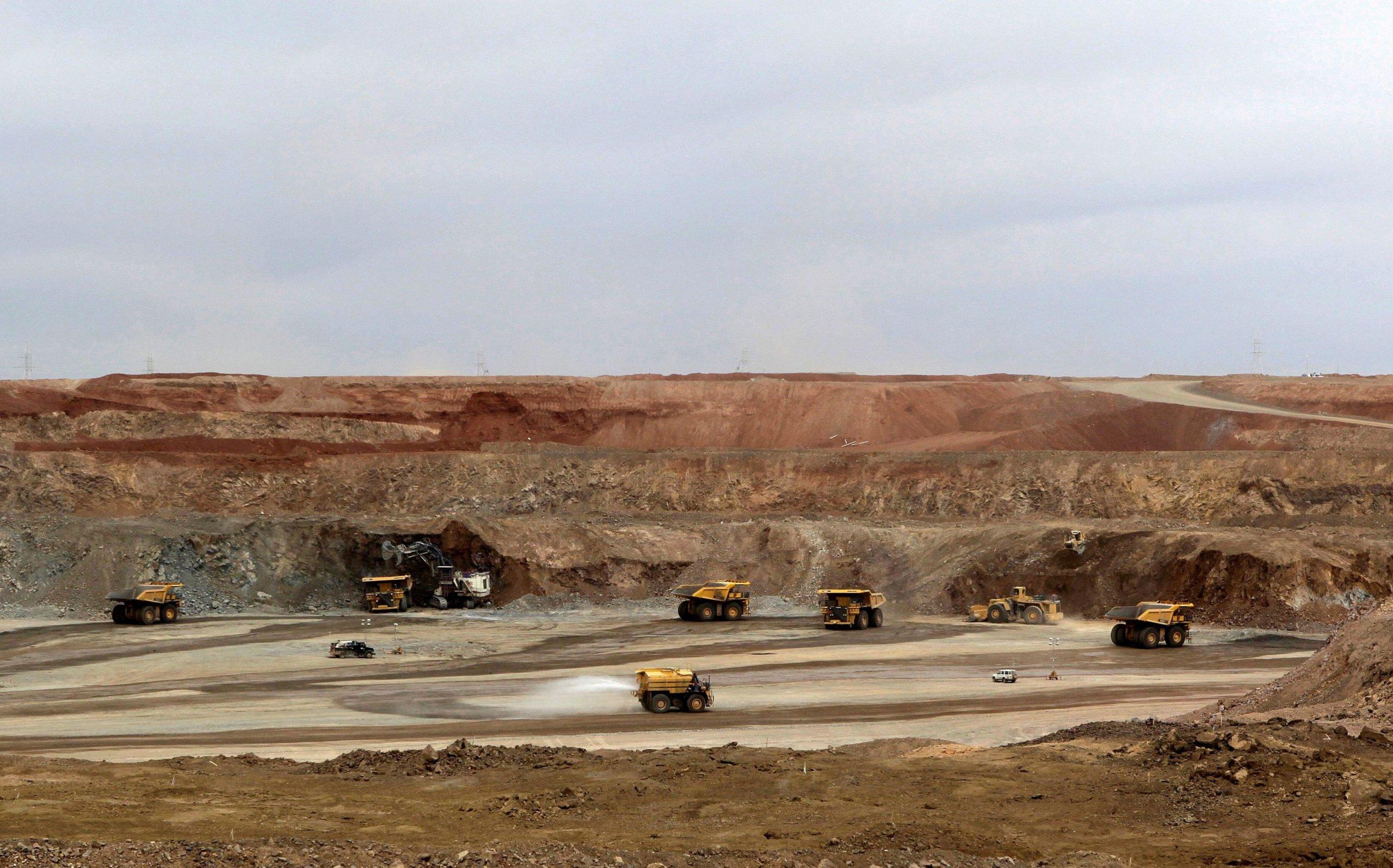 Oyu Tolgoi, Mongolia, REUTERS/David Stanway/File Photo