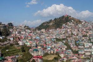 Shimla's landscape