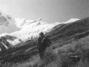 Ronti glacier peak