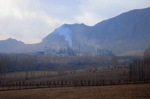 The Sinzhi-Pirim LLC cement plant in Kyrgyzstan