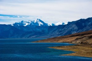 Tso Moriri lake, Gya, Ladakh, India, Perfect Lazybones / Alamy