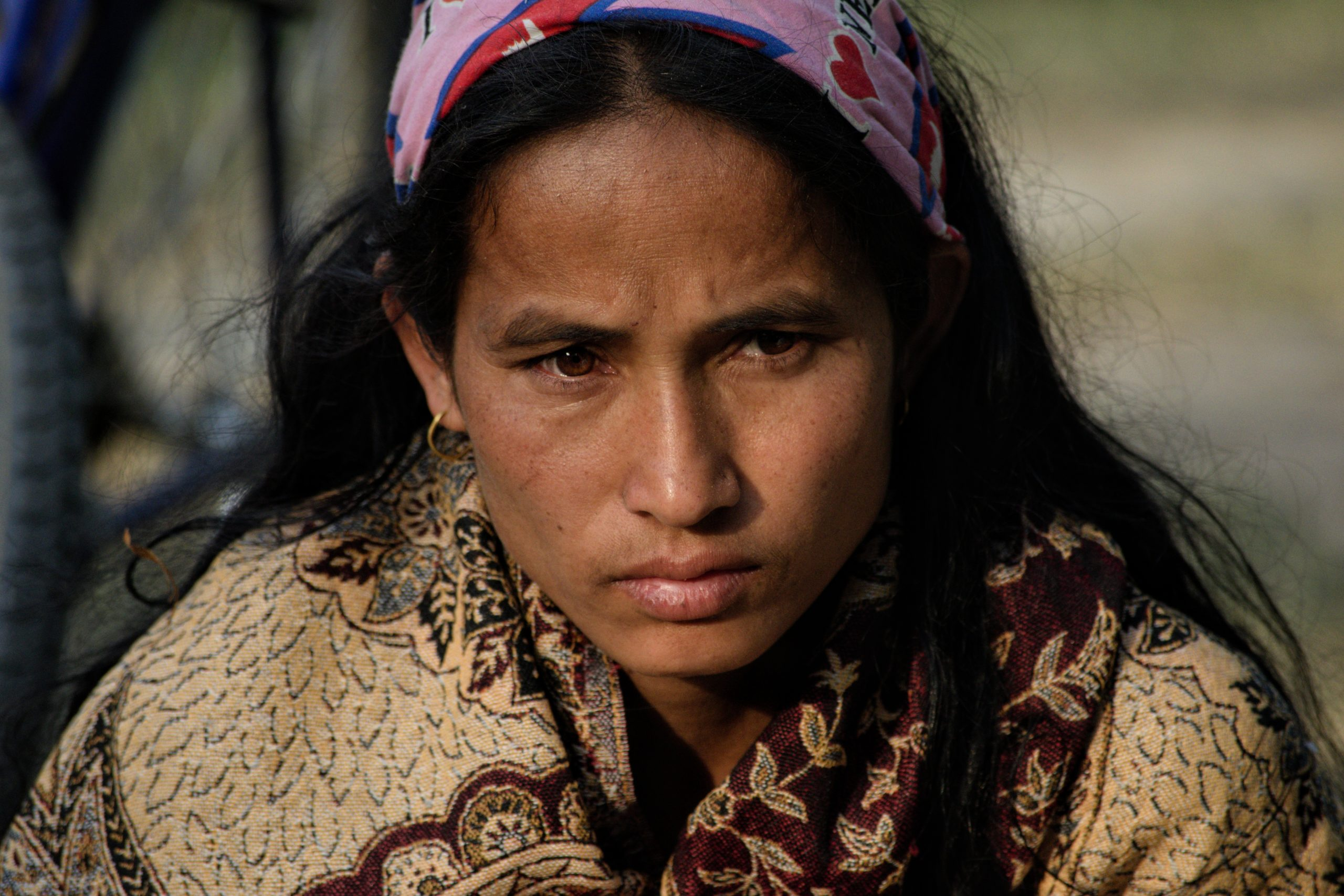 Bhawana Rawat, daughter-in-law of Dalli Rawat, victim of a tiger attack in Bardia National Park, Nepal