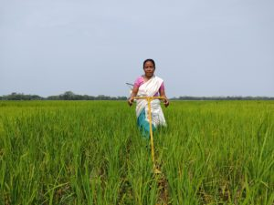 Ranjita Pegu, a farmer in Assam, India, Varsha Torgalkar