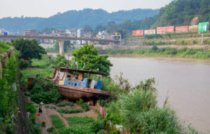 The Red River in the city of Lao Cai in Vietnam, Linh Pham