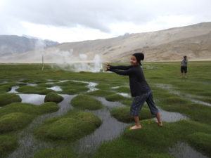 Ladakh has huge potential for geothermal energy. Image by Geothermal Resources Council.