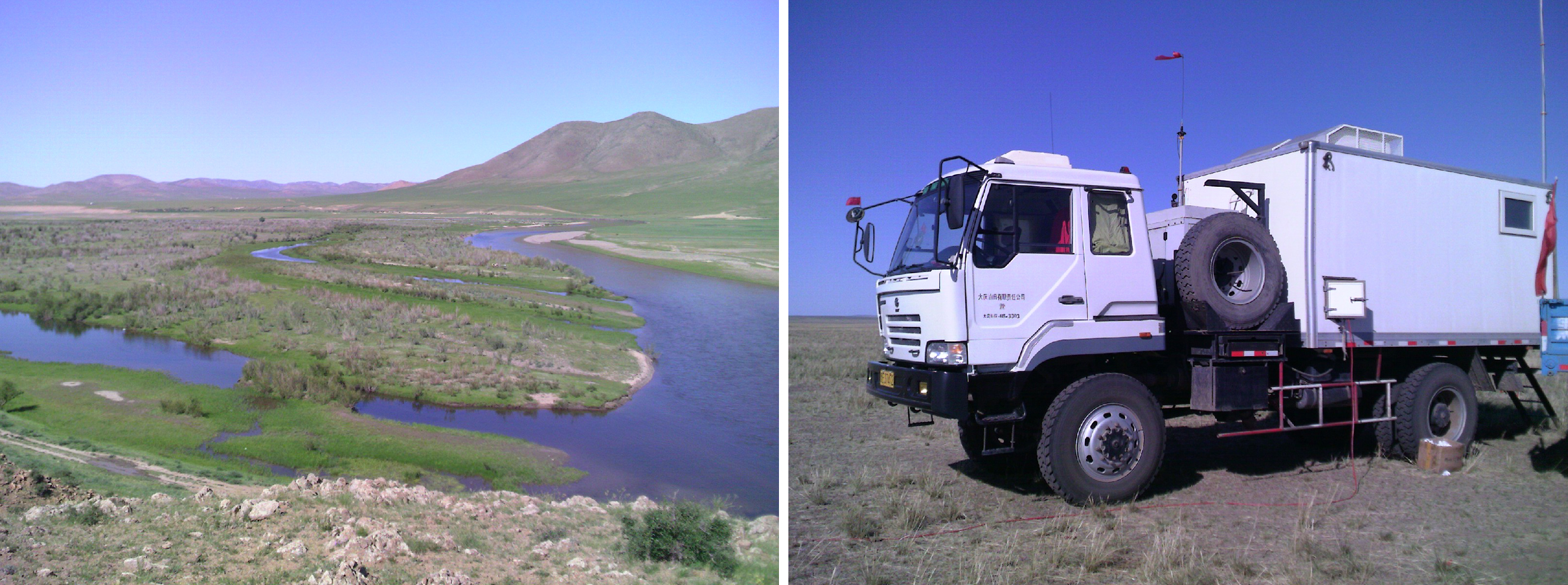 Mongolia, Khorlen river