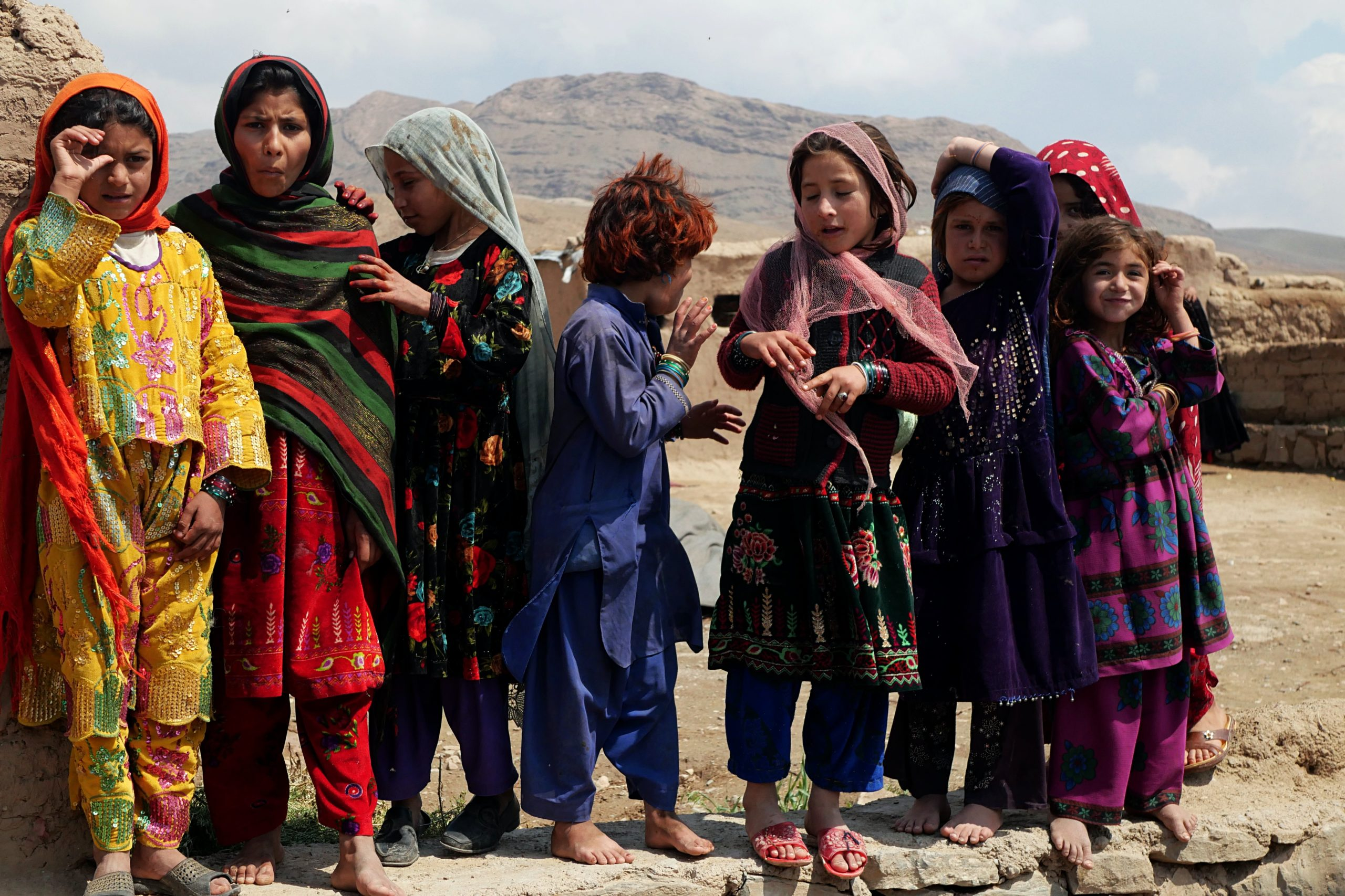 Afghanistan drought refugees IDP Herat