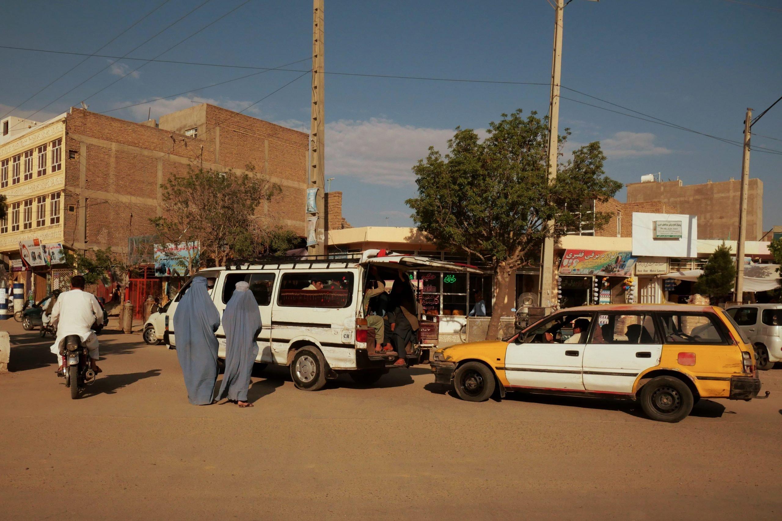 Afghanistan Herat street