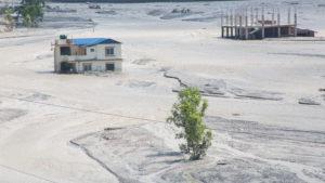 Damage caused by flash flood after landslide in Melamchi river, Nepal, during monsoon, Rojan Shrestha