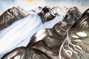 glaciers in the himalayas