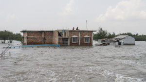 climate change climate disaster climate impact flood west Bengal India May 2021