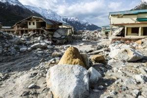 Mandakini river destroyed small town around Kedarnath Temple in 2013