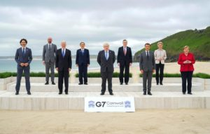 G7 heads of state at the recent summit in Cornwall, UK (Image: Alamy)
