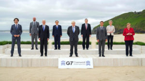 G7 summit 2021 Cornwall