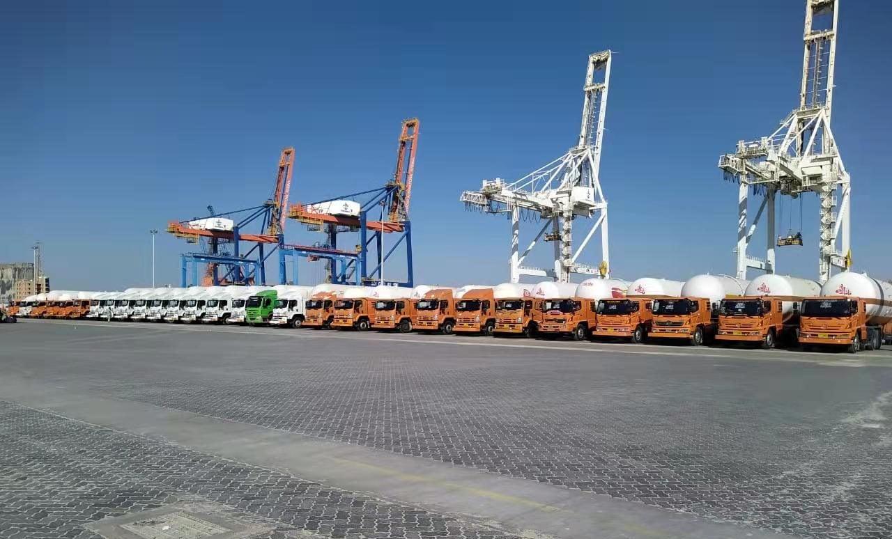 The quiet dock at the Gwadar port area, Shabbir Ahmed)