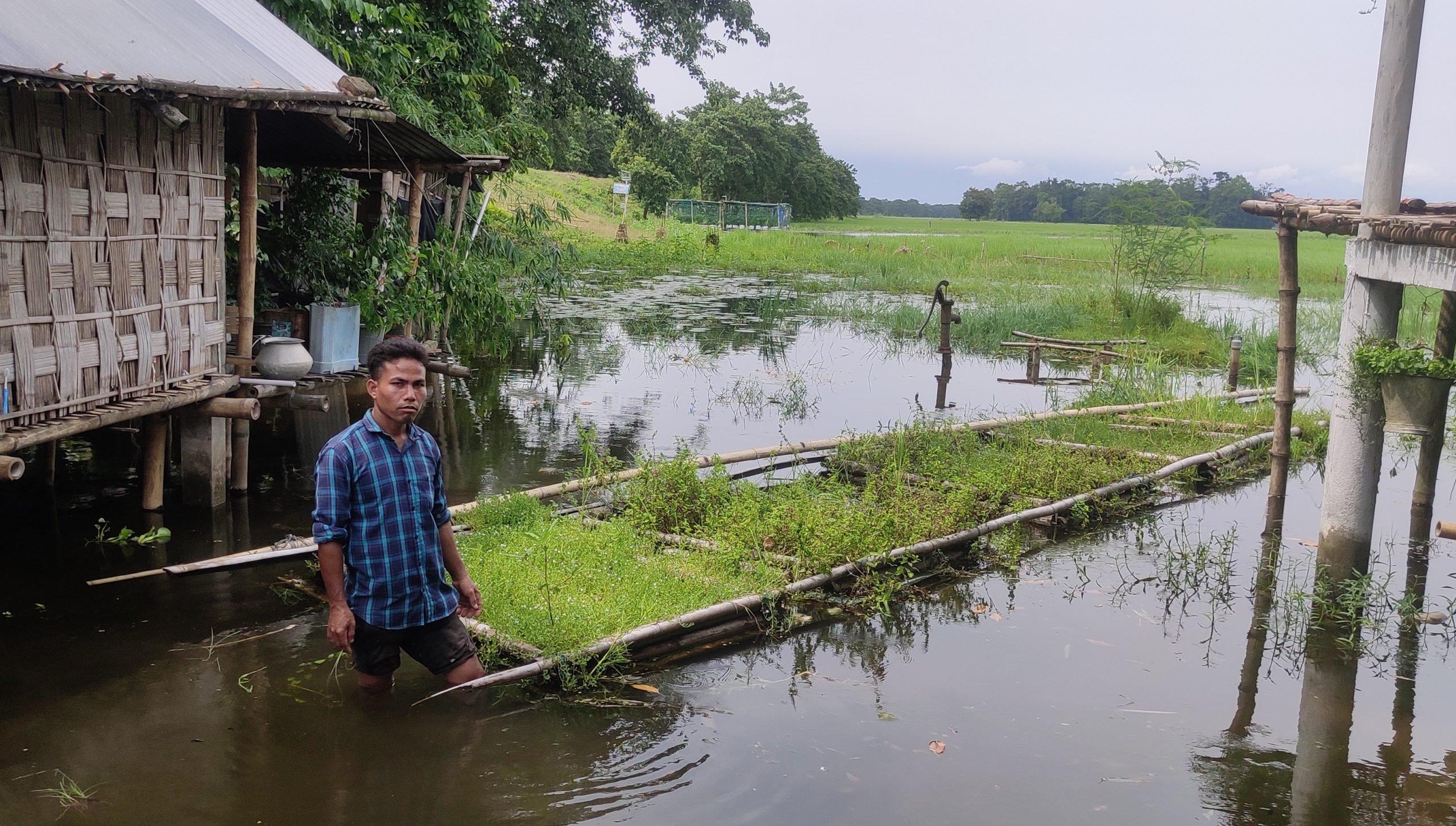 Bolin Payeng, floating agriculture, Majuli, Assam, Gurvinder Singh